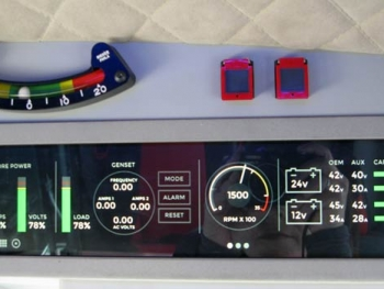 KiraVan Expedition Vehicle Controls