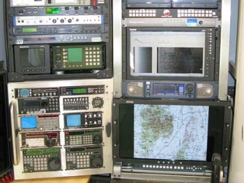 KiraVan Expedition Vehicle Control Room