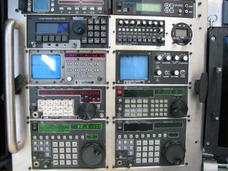 KiraVan Expedition Vehicle Control Room