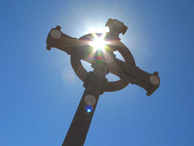 monastery cross