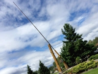 World's Largest Fly Rod in Houston,  British Columbia