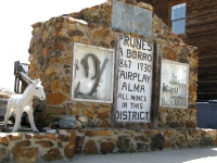 Prunes the award-winning mule of South Park City, CO