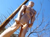Bisbee Arizona Copper Miner Statue
