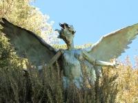 Back Alley Bisbee Garden Sculpture