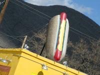 Big Hot Dog at Jimmy's in Bisbee Arizona