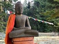 Mt Shasta Shtupa Budha