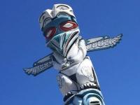 HWY 97 Origin Totem Pole, Weed CA