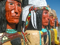 Wooden Cigar Store Indians for Sale in Wyoming