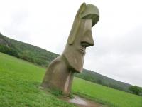 Easter Island in Hunt Texas at Stonehenge II