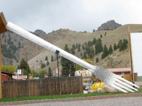 Giant Fork in Creede, CO