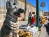 Jesus and Jerry Statues Agua Prieta Mexico