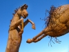 Galleta Meadows Horse Sculpture Borrego Springs