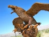 Galleta Meadows Eagle Sculpture Borrego Springs