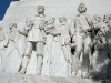 Alamo Memorial Tribute to Davey Crockett and Jim Bowie