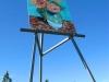Largest Monet Replica on Giant Easel in Goodland, KS