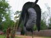 Rainbow's End Garden Art Shovel Vulture