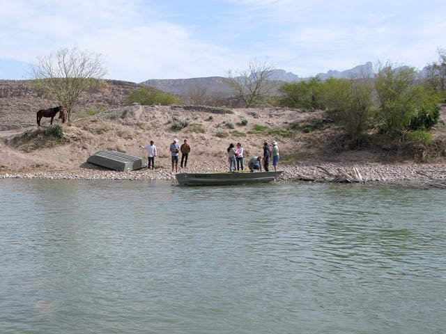 boquillas crossing