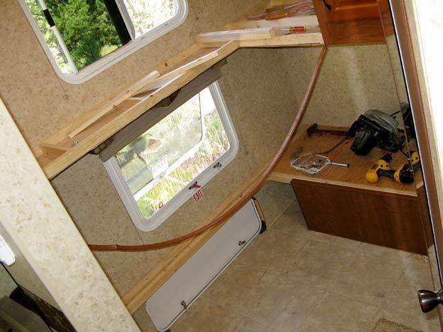 Diy Bunkhouse Fifth Wheel Workshop Remodel