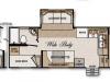 Northwood Arctic Fox 275B Floorplan