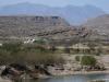 RV Parking at Boquillas Crossing Big Bend Texas to Mexico