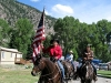 Vickers Ranch Horses Lake City Colorado Fourth of July Parade
