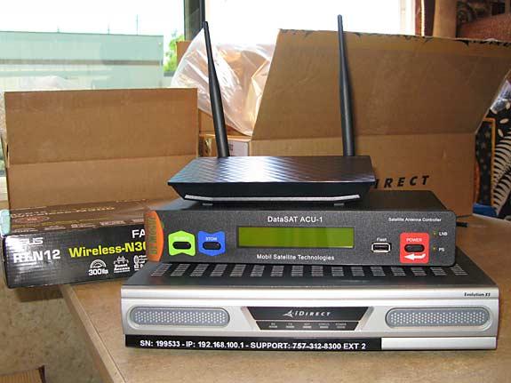 Mobilsat Delivers Rvdatasat 840 Satellite Internet For