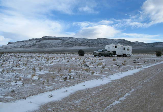 winter boondocking,RVing,full-time RVing,nomad,