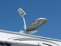 RV Datasat 840 Satellite Internet Dish Calibration
