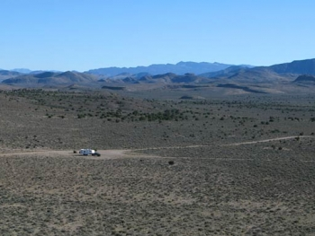 Basin and Range BLM National Monument Free RV Boondocking