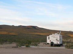 Free RV Boondocking at the Pads Death Valley, CA