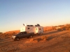 Sunset Over Slab City, Free RV Boondocking
