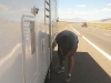 Changing Fifth Wheel Trailer Tire Blowout