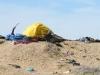 Slab City Resident Impromptu Shade Shelter Tent