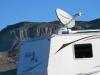 BLM Boondocking with RVDataSat Satellite Internet at Basin and Range Monument