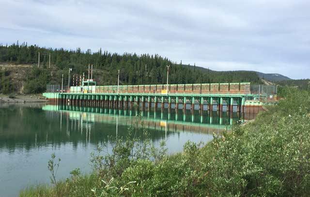 Yukon River Dam