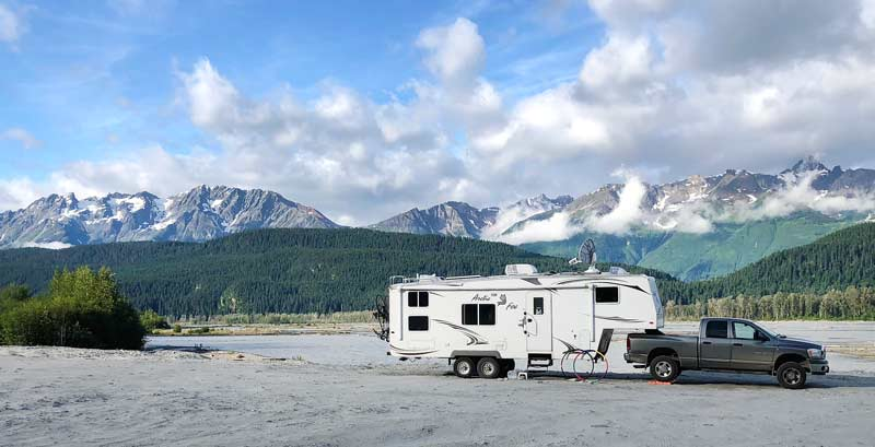 Chilkat River Boondocking