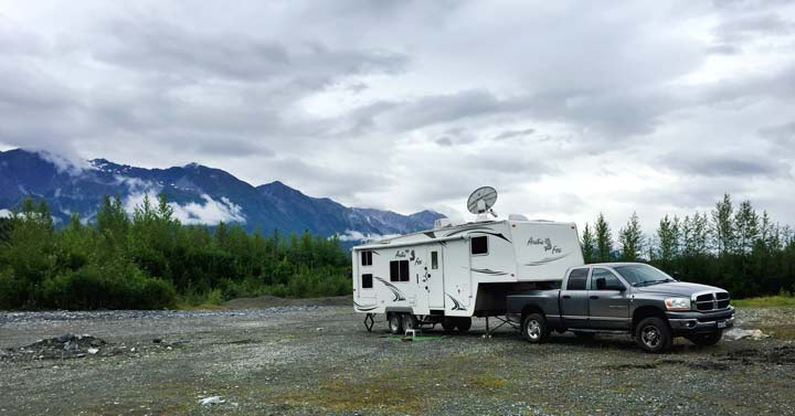 what does it cost to RV to Alaska
