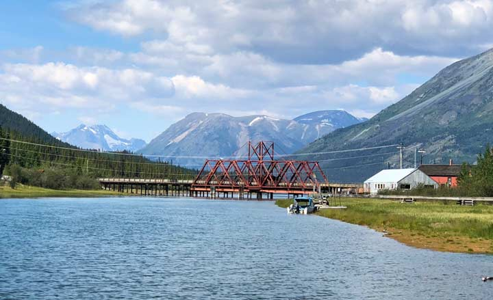 Carcross, Yukon River Bridge