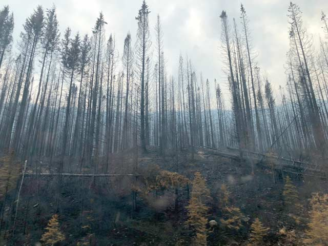 British Columbia, fires, smoky, Alaska Highway