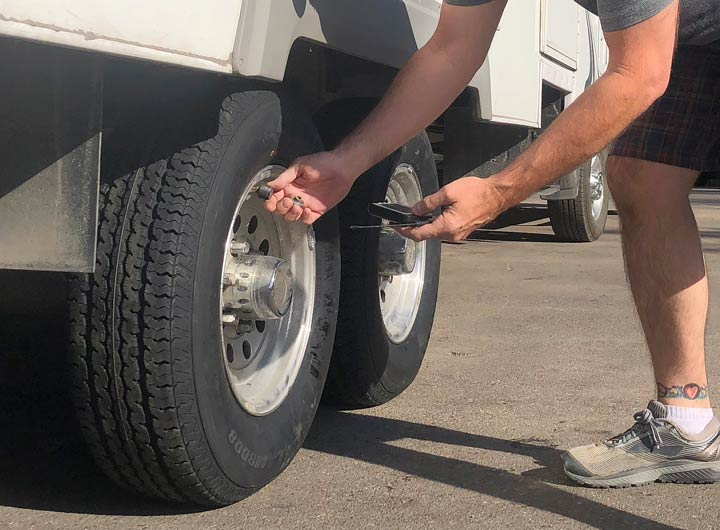 new RV tires