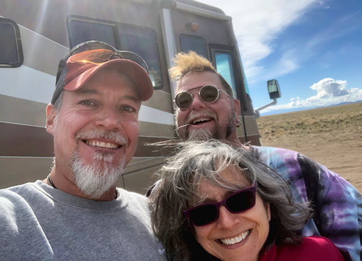 full-time RVing nomads