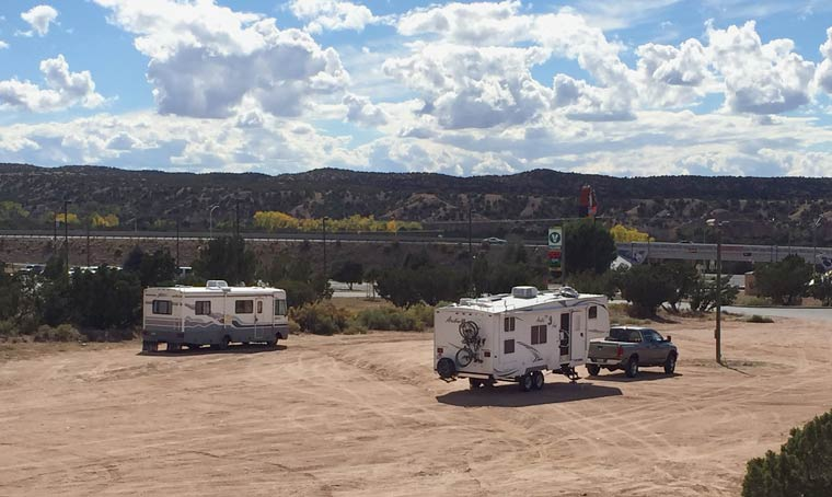 Camel Rock Casino RV Boondocking