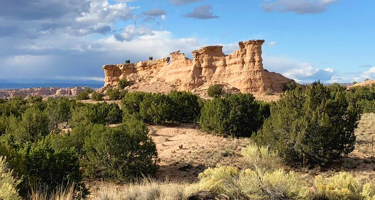 Nambe New Mexico Hoodoos