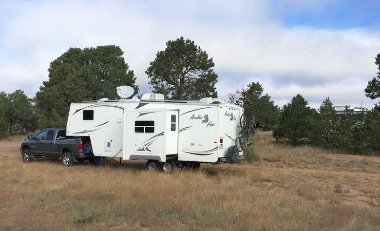 Pie Town RV Boondocking