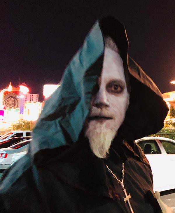 Fremont Street Undead Priest