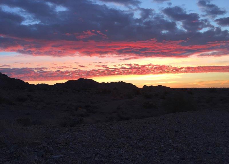 Chocolate Mountains Sunrise