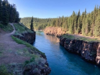Miles Canyon, Yukon  River at Whitehorse YT