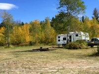 Free Boondocking at Spread Creek, Grand Tetons
