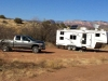 Sedona Arizona boondocking wth solar power and satellite internet