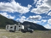 Satellite Internet only at Petersen Creek Boondocking in BC, Canada